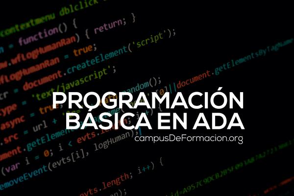Programación Básica en ADA